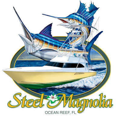 Crew of the month april 2012 steel magnolia for Fishing shirt of the month